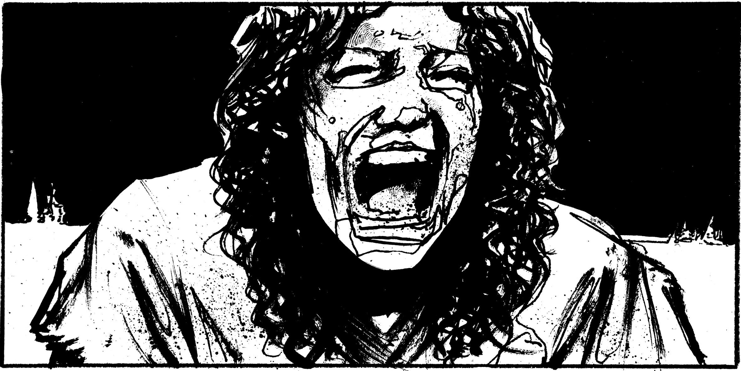 The Empties graphic novel character Helen