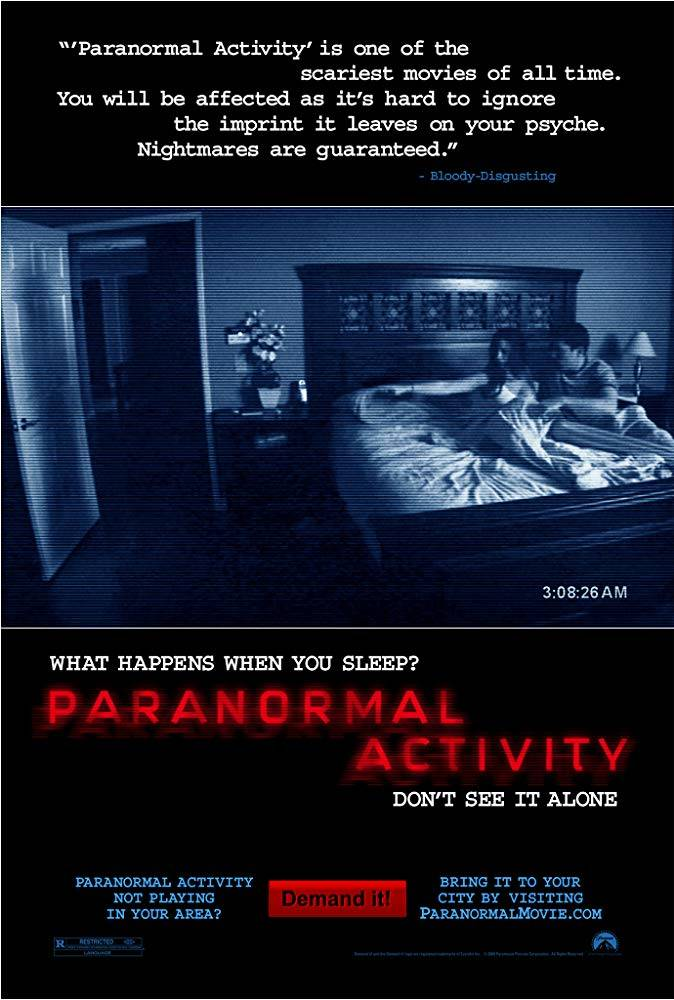 Paranormal Activity Movie Poster