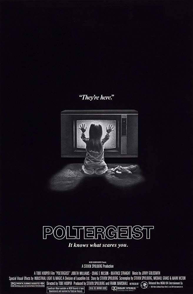 Poltergeist Horror Movie Poster 1983