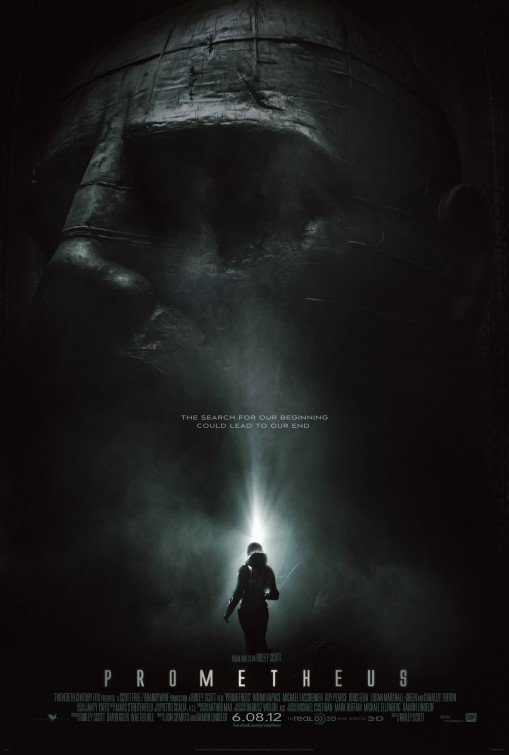 Prometheus (2012) Movie Poster