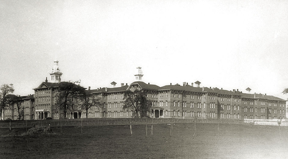 Oregon State Hospital in 1895