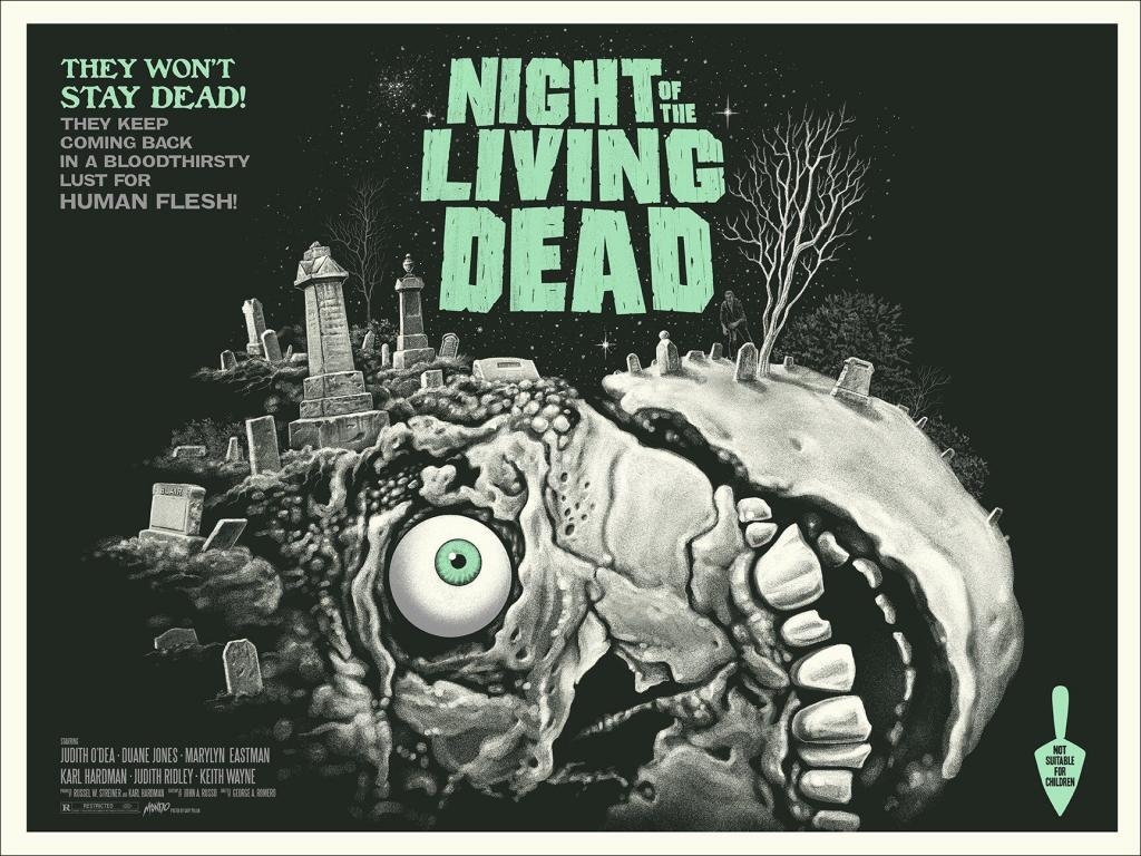 Night of the Living Dead (1968) Movie Poster