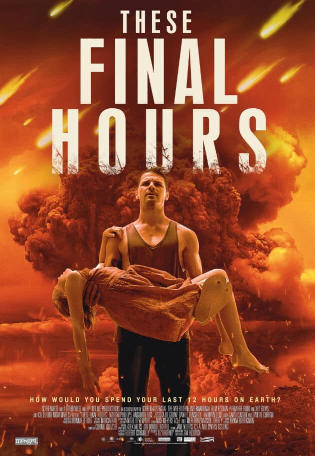 These final hours movie poster