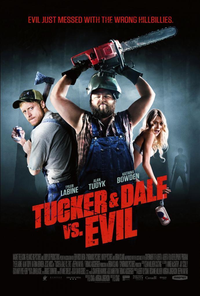 Tucker and Dale vs Evil Movie Poster