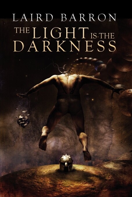 Laird Barron Horror Book The Light in the Darkness book cover