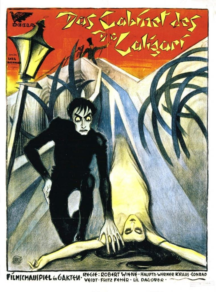 The Cabinet of Dr. Caligari poster